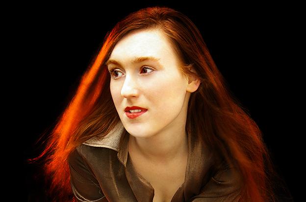 A poeta alemã Nora Bossong