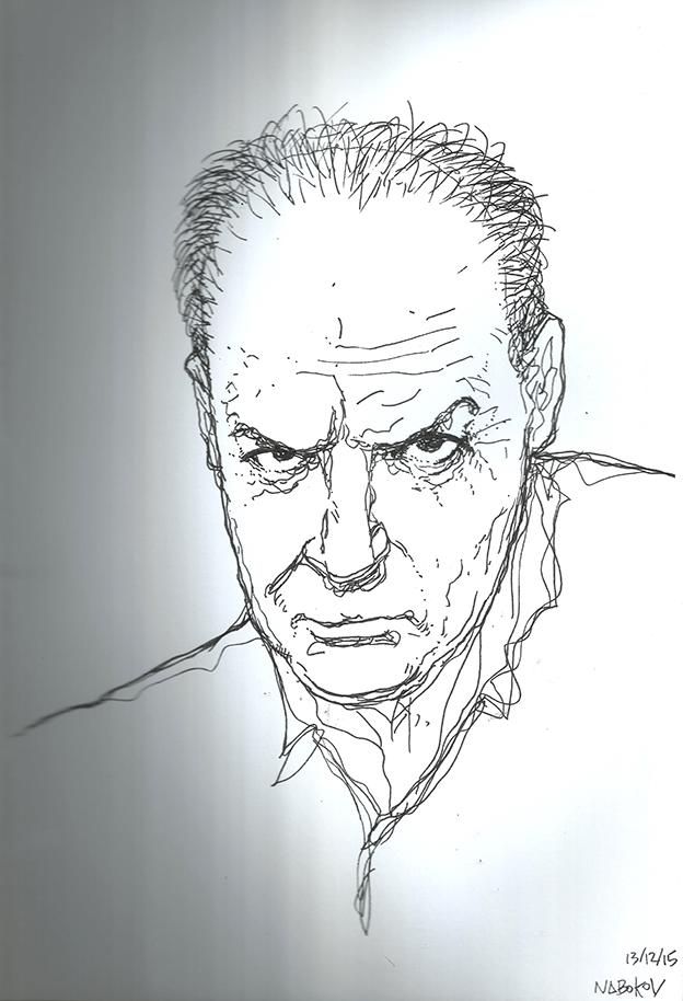 Vladimir Nabokov por José Luiz Tahan