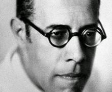 Mário de Andrade, autor do poema Tostão de chuva