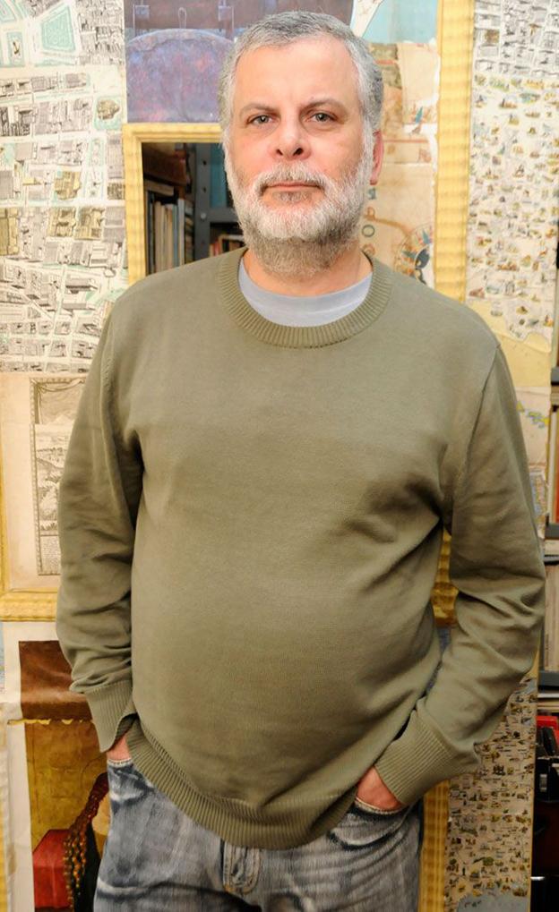 Fernando Fiorese, autor de Um chão de presas fáceis