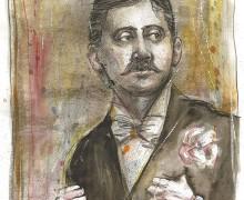 Marcel Proust por Robson Vilalba