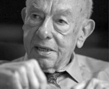 O filósofo americano Willard van Orman Quine