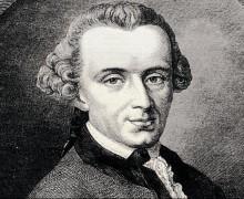 O filósofo Immanuel Kant