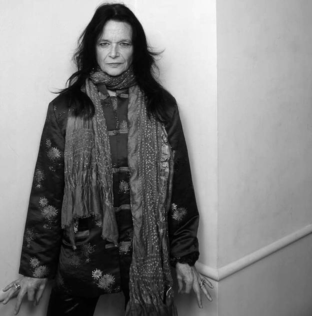 A poeta norte-americana Anne Waldman