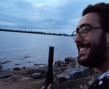 Guilherme Gontijo Flores, autor de Tróiades – remix para o próximo milênio