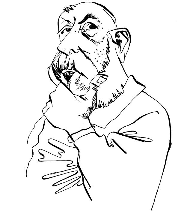 Leonardo Padura, por Osvalter