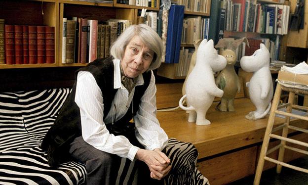 Tove Jansson, autora da série Os Moomins