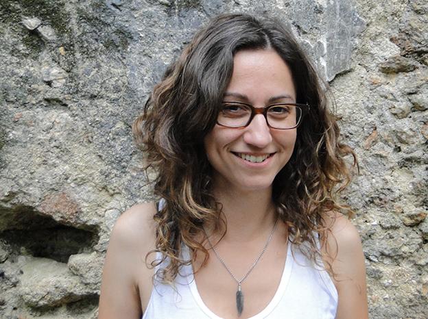 Carol Bensimon, autora de Uma estranha na cidade