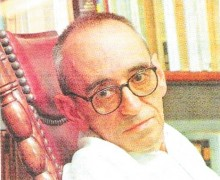O poeta José Paulo Paes, autor de Escola