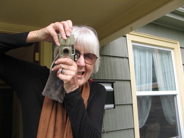 A poeta norte-americana Joanne Kyger