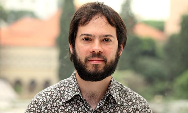 Estevao Azevedo, autor de Nunca o nome do menino