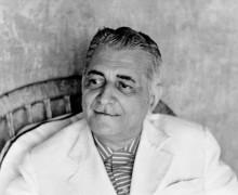 Gilberto Freyre, autor de Casa-Grande & Senzala