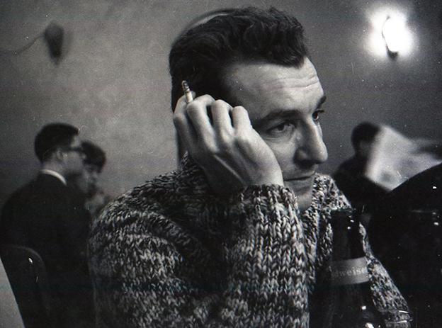 O poeta norte-americano John Wieners