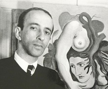 O poeta Murilo Mendes