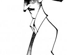 Ilustração: Fernando Pessoa por Osvalter