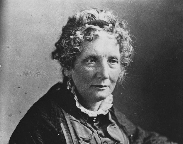 Harriet Beecher Stowe, autora de A cabana do Pai Tomás