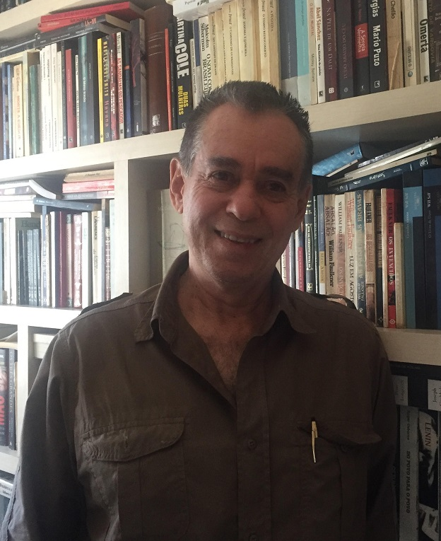 Carlos Herculano Lopes, autor de A dança dos cabelos