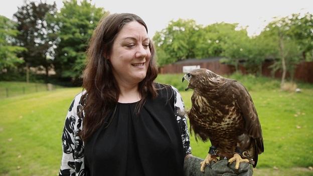 Helen Macdonald, autora de F de falcão