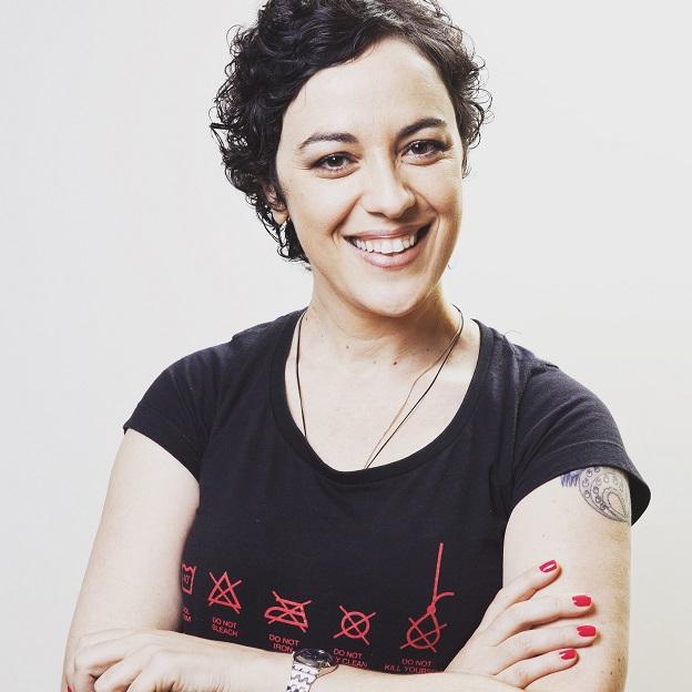 Marcia Tiburi, autora de Uma fuga perfeita é sem volta