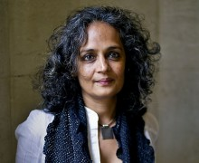 Indian writer and political activist Arundhati Roy
