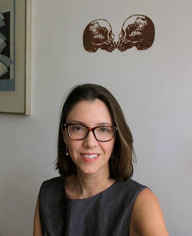 Laura Erber, autora de A retornada