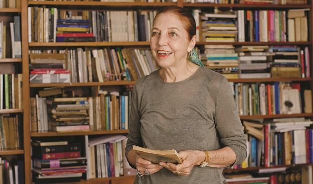 Marina Colasanti, autora de Sangue fino
