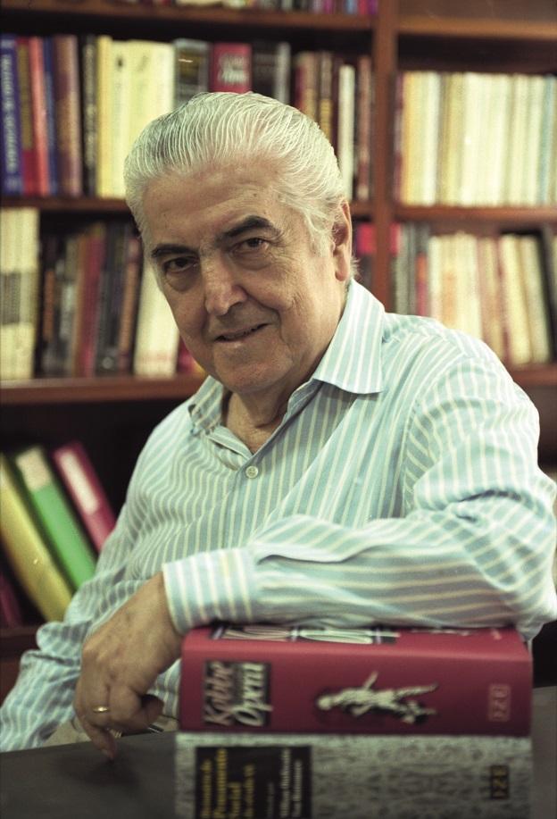 O editor Jorge Zahar.