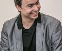 Lucas Guimaraens, autor de Exílio — o lago das incertezas.