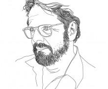 Ilustração: Cristovão Tezza por Fábio Abreu.