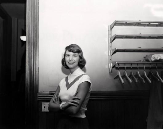 Sylvia Plath, autora de A redoma de vidro.