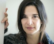 Patrícia Portela, autora de O banquete.