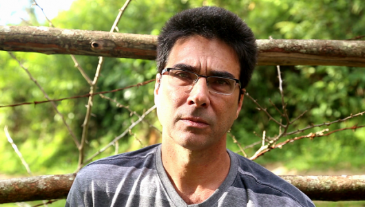 O poeta Alberto Pucheu