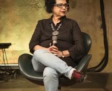 Curitiba, Parana, Brasil, 02 de outubro de 2018.                   Legenda:  A escritora gaúcha Cíntia Moscovich no Paiol Literário.                   Foto: Guilherme Pupo