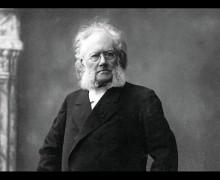 Henrik Ibsen , autor de Espectros