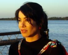 Sônia Barros, autora de Fios e Tempo de dentro