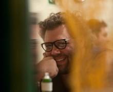 Luiz Felipe Leprevost, autor de Tudo urge no meu estar tranquilo