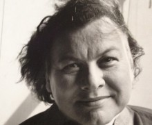 Muriel Rukeyser, poeta americana.
