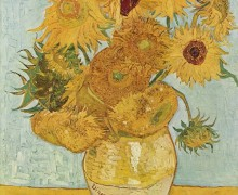 Ilustração: Girassóis, de Van Gogh