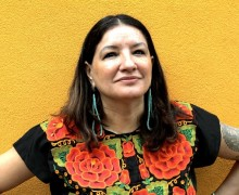 Sandra Cisneros for the book and author luncheon