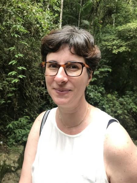 Sabina Anzuategui, autora de Luciana e as mulheres