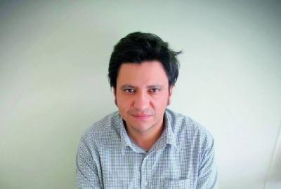 Alejandro Zambra, autor de
