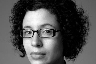 "Andréa Del Fuego, autora de ""A pediatra"""