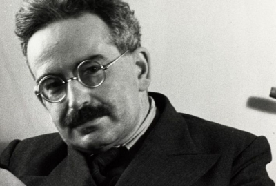 O ensaísta e filósofo alemão Walter Benjamin