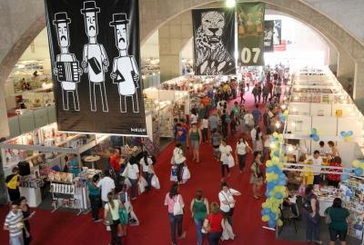 Centro de Convenções de Pernambuco, onde acontece a Bienal PE
