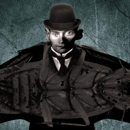Franz Kafka por Oliver Quinto