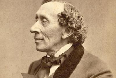 """Hans Christian Andersen, autor de """"A sereiazinha e outras histórias"""""""