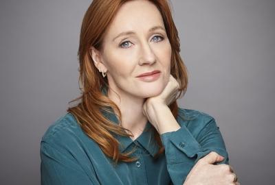 J.K. Rowling, autora de