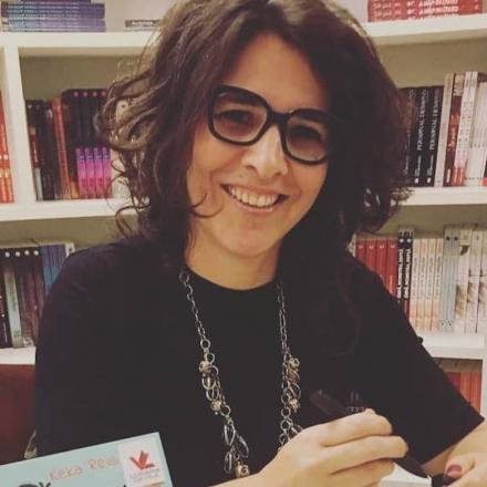 """Keka Reis, autora de """"Medley ou Os dias em que aprendi a voar"""""""