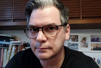 """Marcelo Ferroni, autor de """"As maiores novidades: uma viagem no tempo"""""""