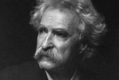 """Mark Twain, autor das anotações que se tornaram """"O esbulho do príncipe margarina"""""""